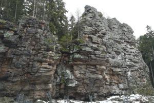 Bílá skála - Devět skal